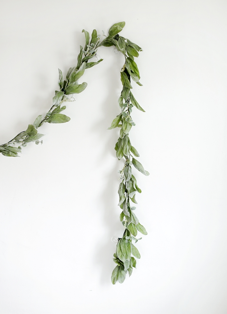 DIY Greenery Globe Light Garland @themerrythought #michaelsmakers