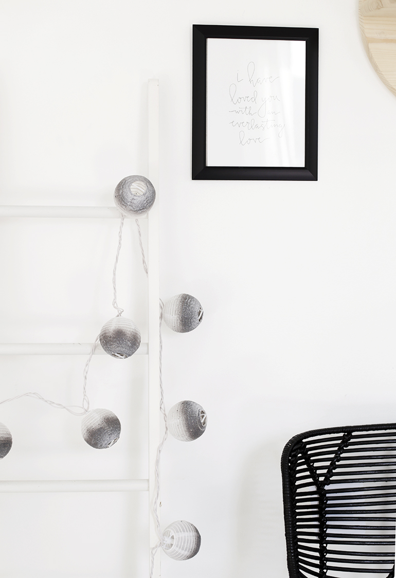 DIY Painted Lantern Lights @themerrythought
