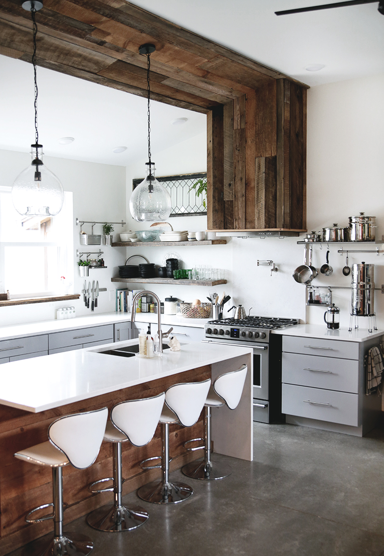 Modern farmhouse kitchen the merrythought - Images of farmhouse kitchens ...