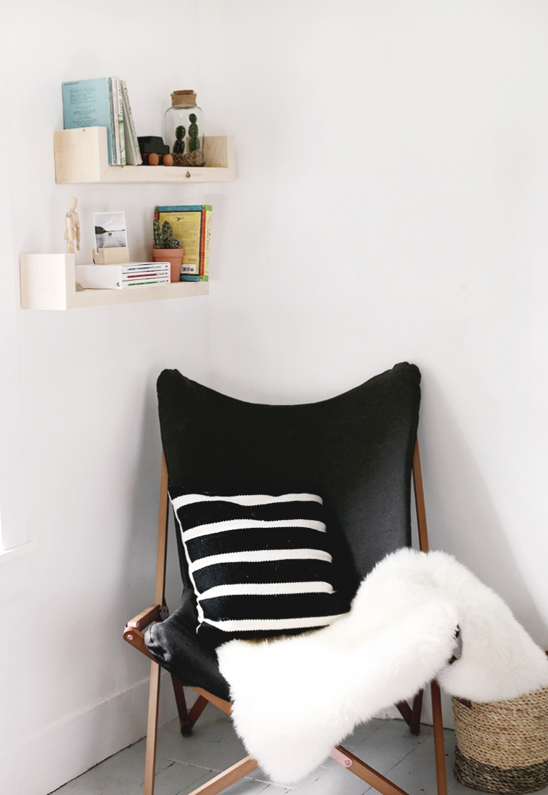 . DIY Wood Wall Shelves   The Merrythought