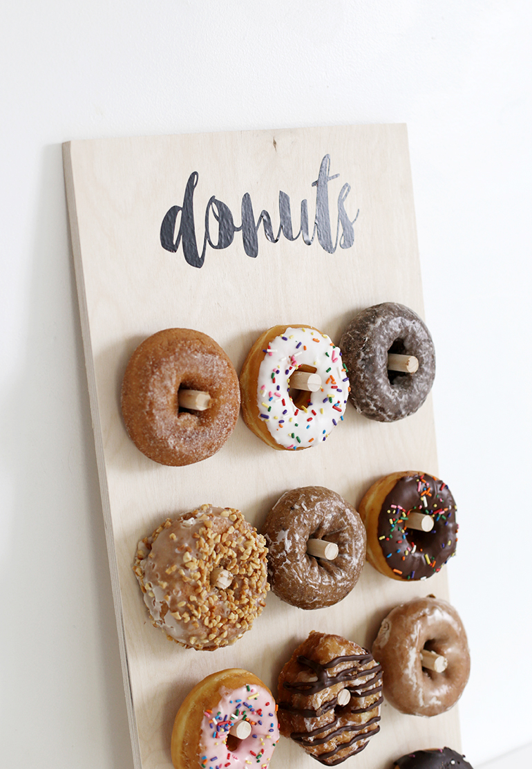 Diy Donut Wall The Merrythought