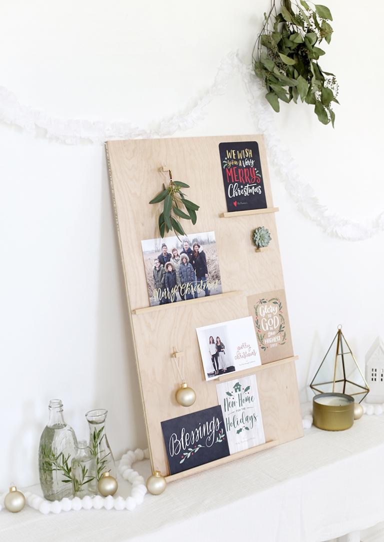 DIY Christmas Card Display - The Merrythought