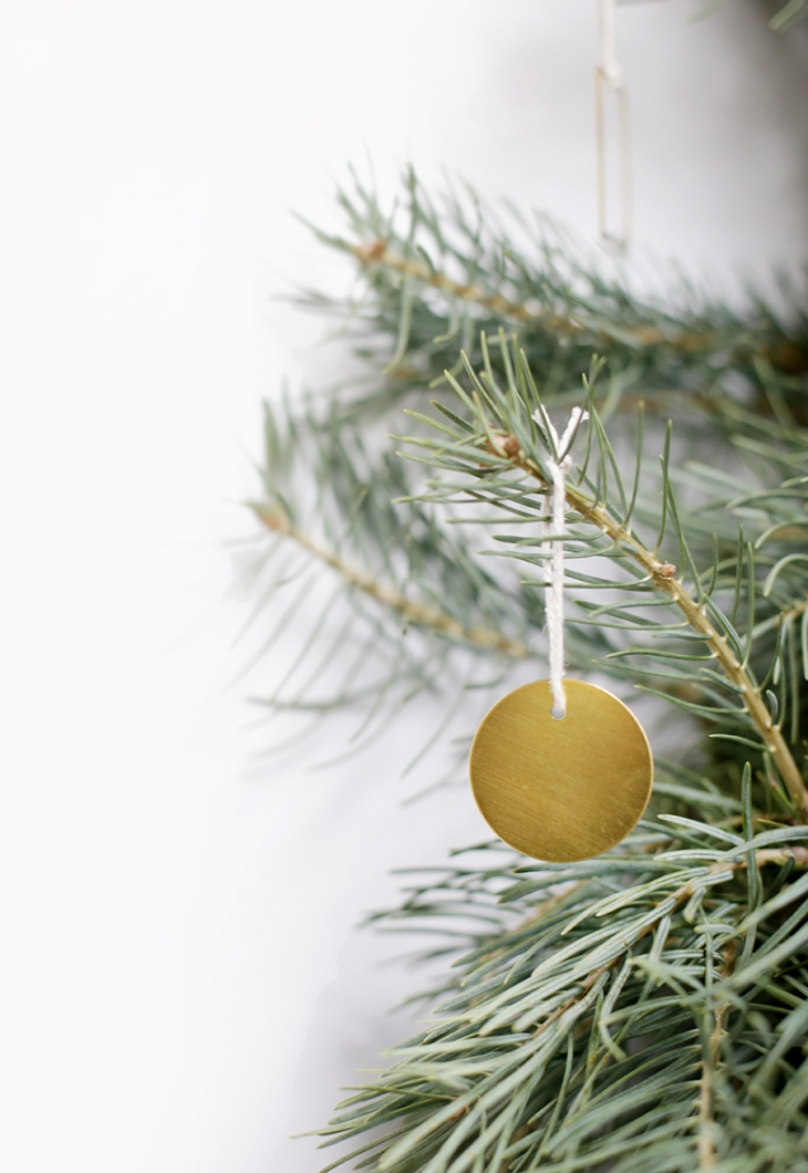 DIY Brass Ornaments @themerrythought