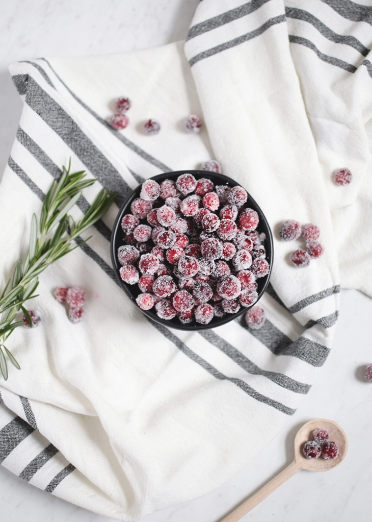Sugared Cranberries @themerrythought