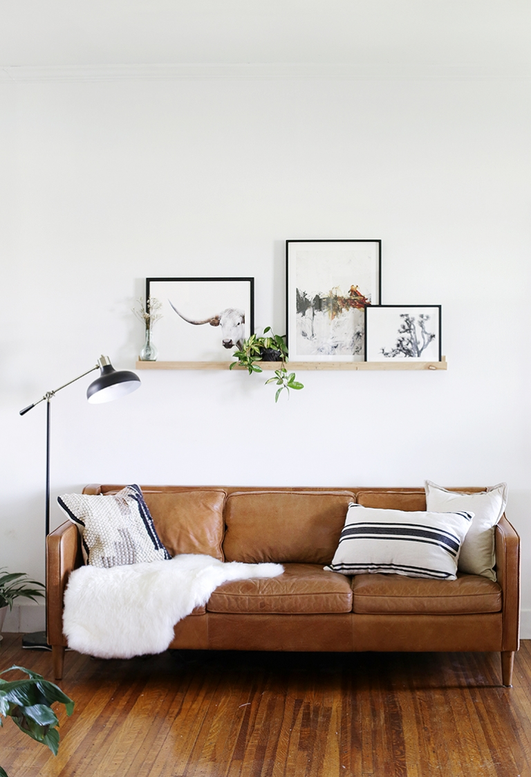 . Living Room Wall Refresh   The Merrythought