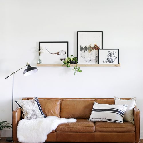 Living Room Wall Refresh @themerrythought
