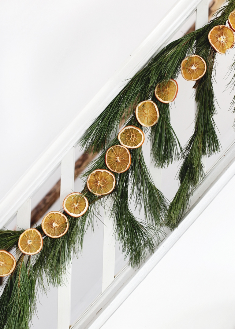 Diy Dried Orange Garland How To Make A Dried Orange Garland