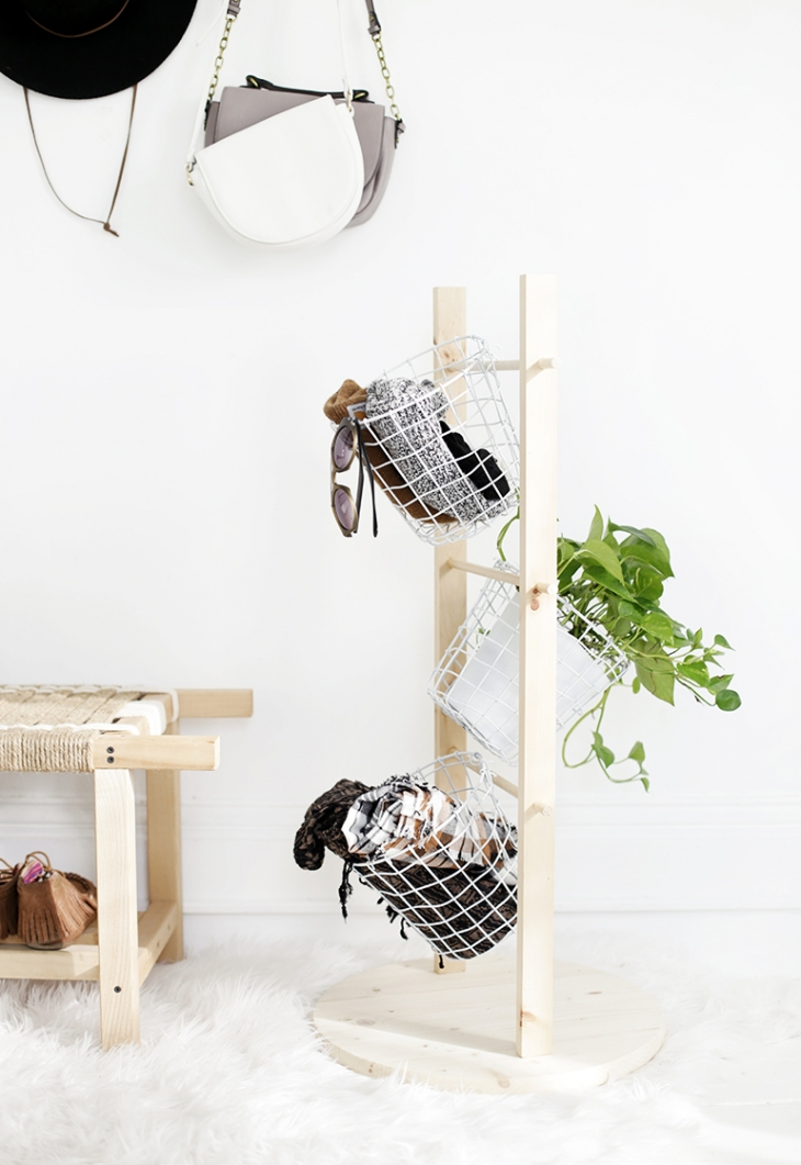 DIY Basket Tower @themerrythought