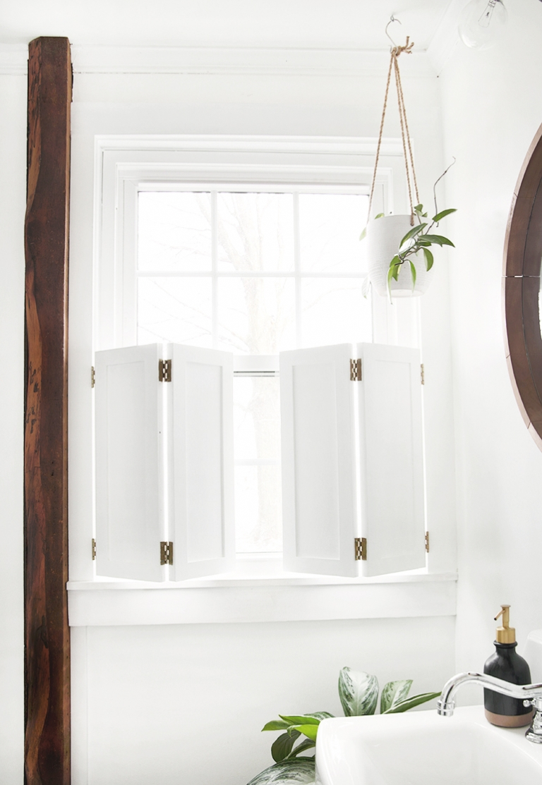 Diy Interior Window Shutters The Merrythought