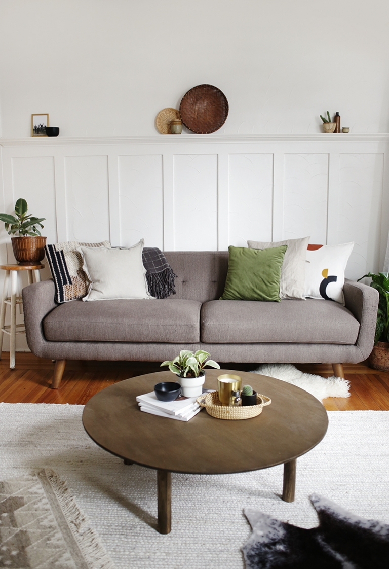 Diy Round Coffee Table The Merrythought
