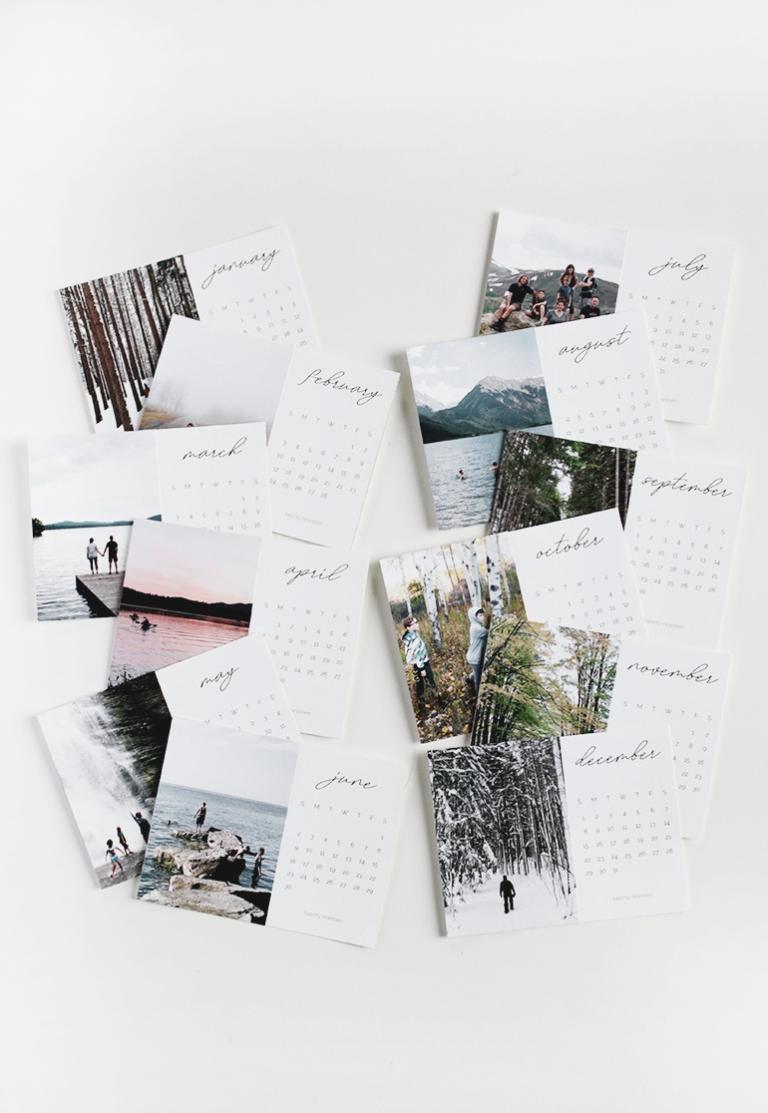 Free 2019 Printable Calendar @themerrythought