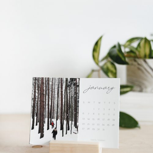 Free 2019 Printable Calendar @themerrythought