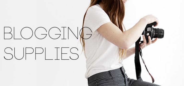 Blogging Supplies