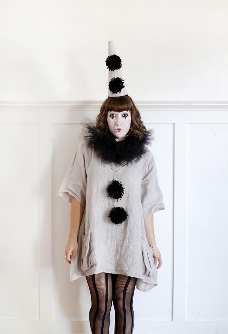 DIY Vintage Clown Costume