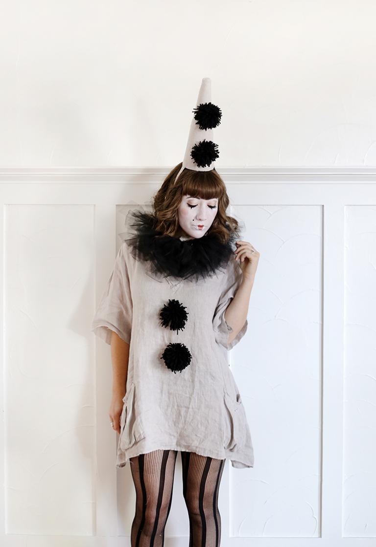 Diy Vintage Clown Costume The