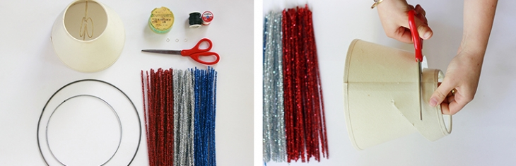 DIY Mini Firework Pom-Pom Mobile | The Merrythought