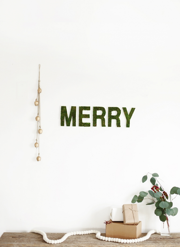 Merry Moss Wall Letters @themerrythought
