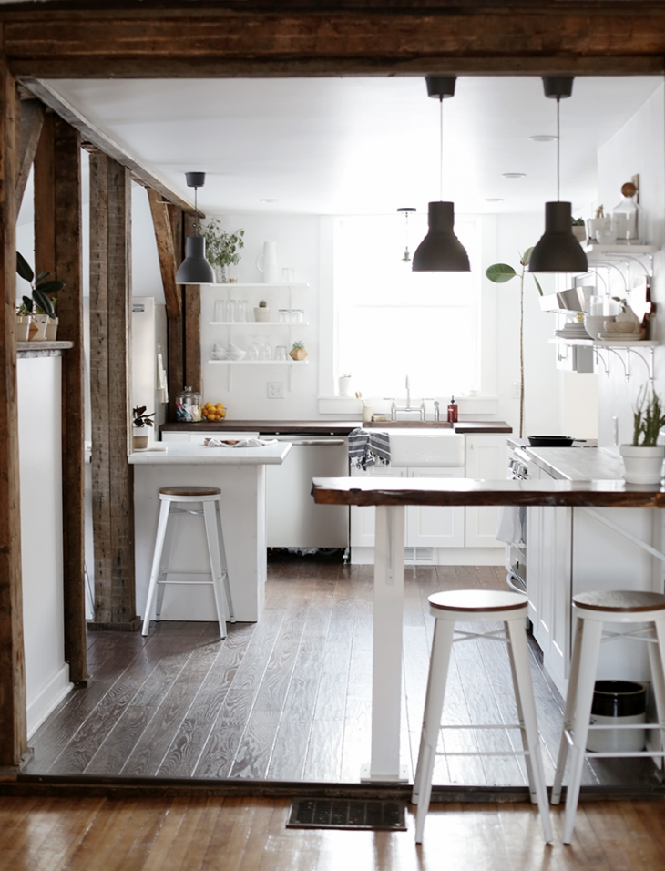 Minimal Kitchen @themerrythought
