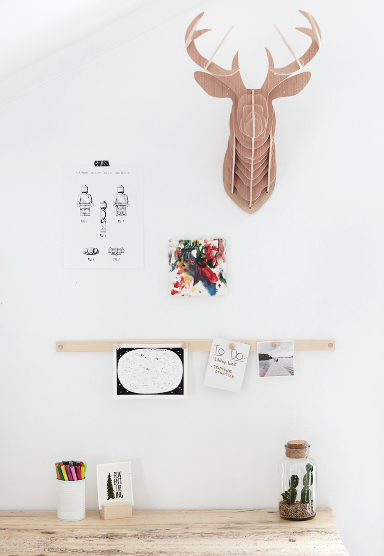 Diy Magnetic Display Rail The Merrythought