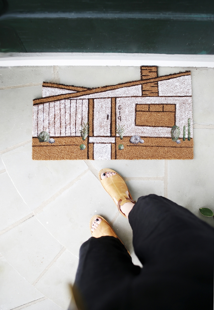 DIY House Doormat @themerrythought