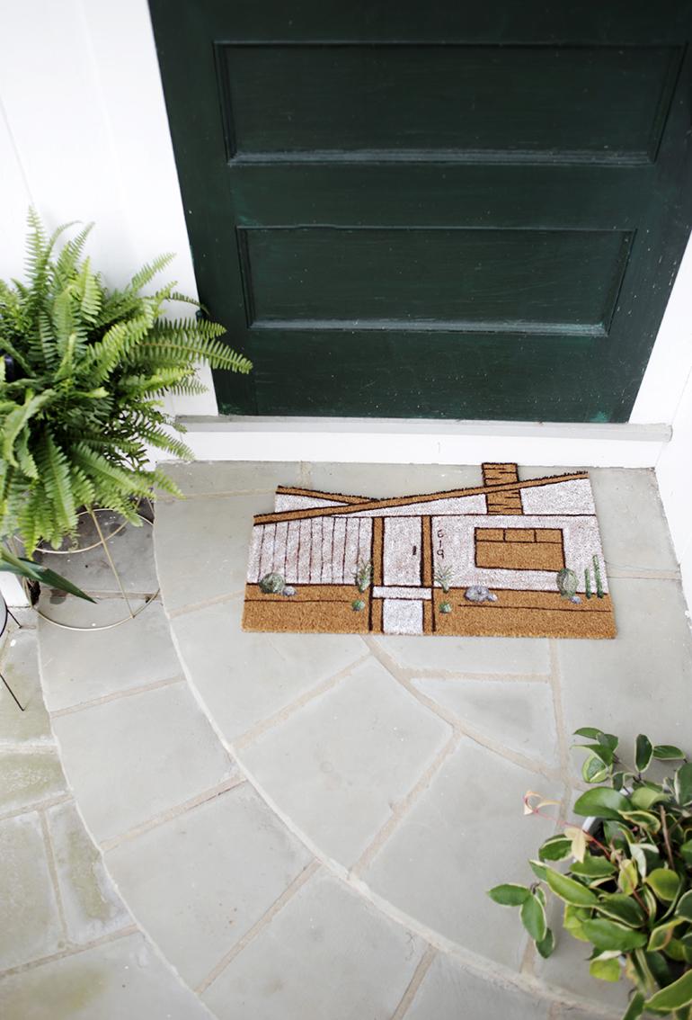 DIY House Doormat @themerrythought