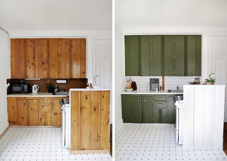 200 Renter Friendly Kitchen Makeover The Merrythought