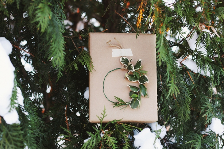 Simple Gift Wrapping @themerrythought
