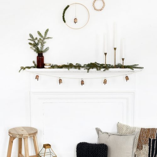 3 DIY Minimal Wreaths @themerrythought
