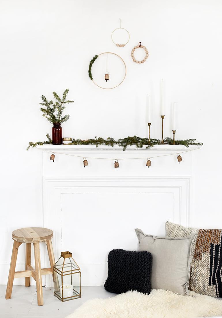 3 DIY Minimal Wreaths @themerrythought