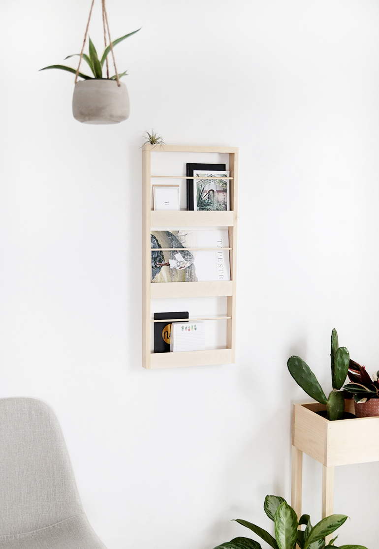 Wood Wall Organizer