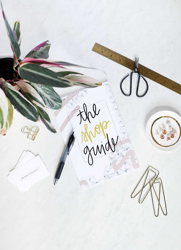 Optimizing Your Etsy Shop with The Shop Guide @themerrythought