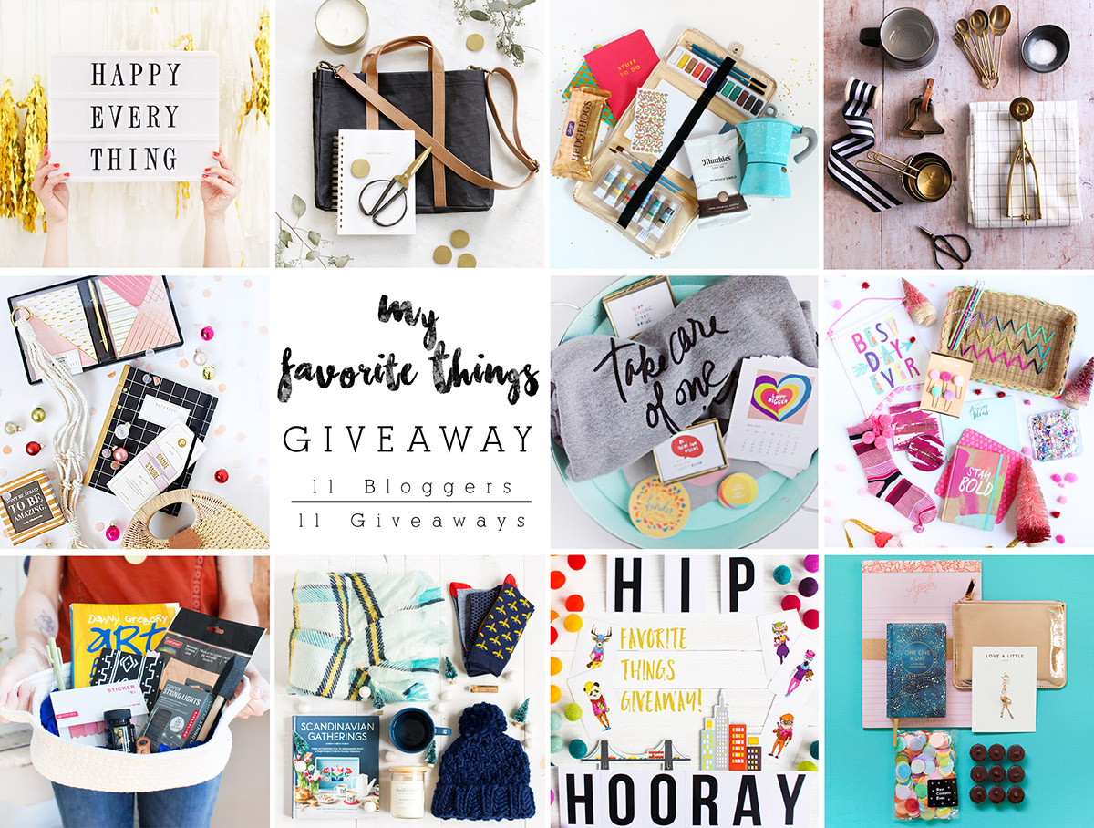 Favorite Things Giveaway @themerrythought