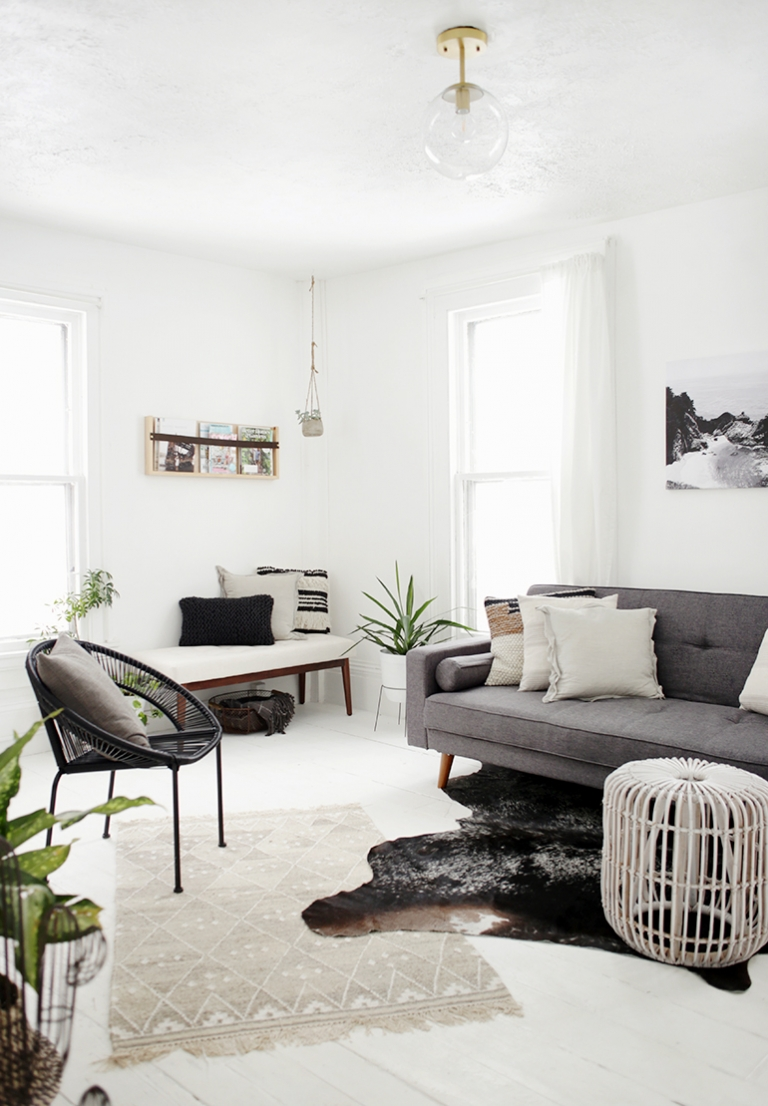 Minimal Living Room - The Merrythought