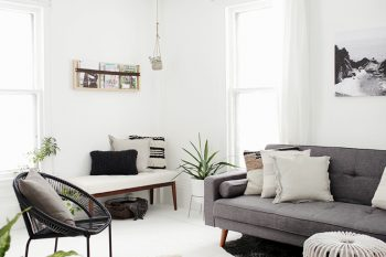 Minimal Living Room @themerrythought