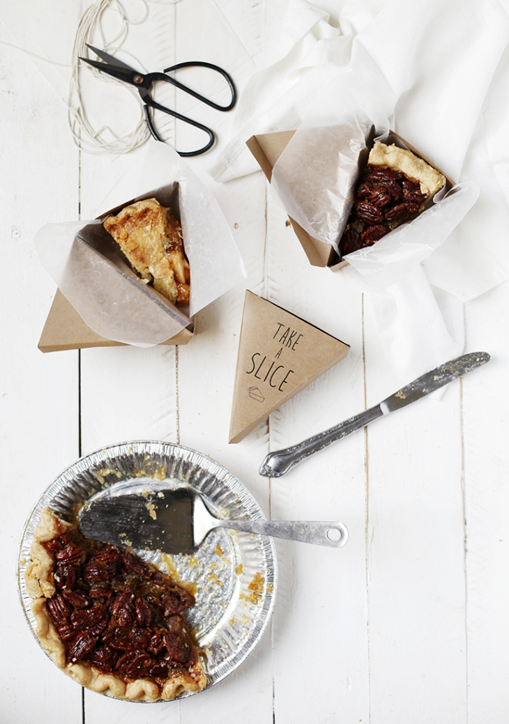 Printable Pie Box @themerrythought