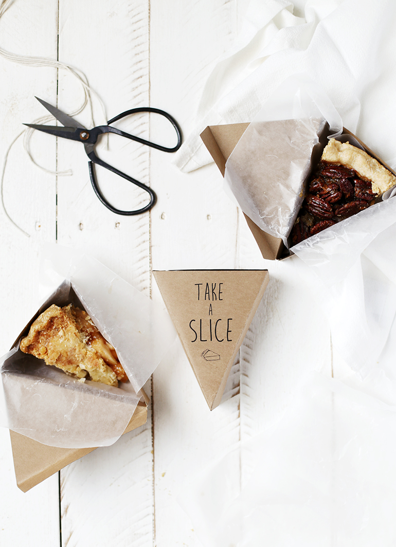 Printable Pie Box - The Merrythought