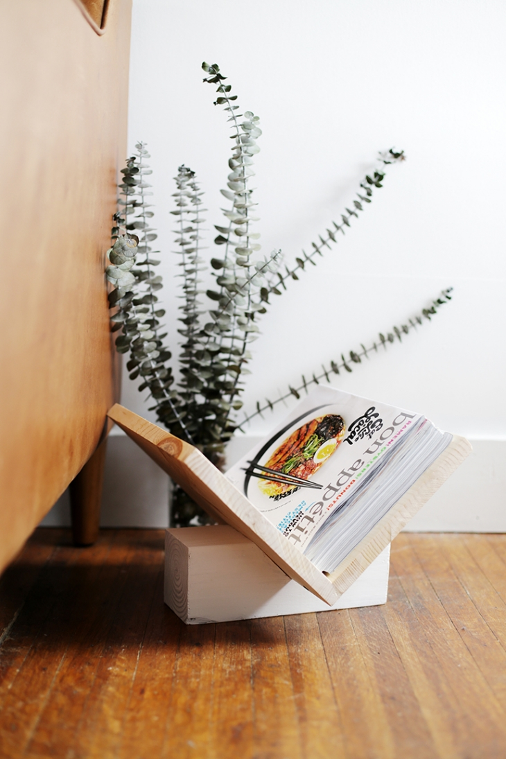 DIY Wooden Magazine Rack @themerrythought for @ehow