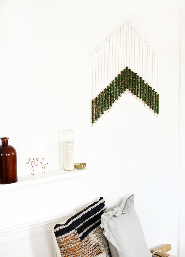 DIY Craft Stick Advent Calendar @themerrythought