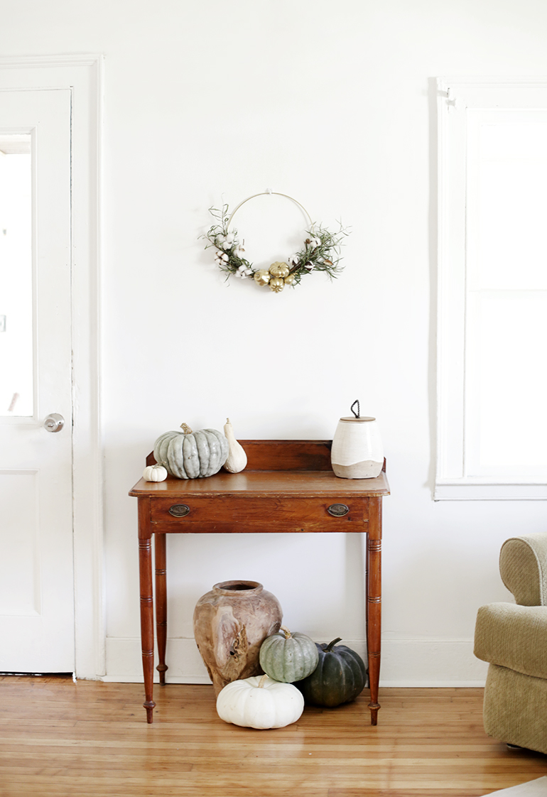 DIY Fall Wreath @themerrythought