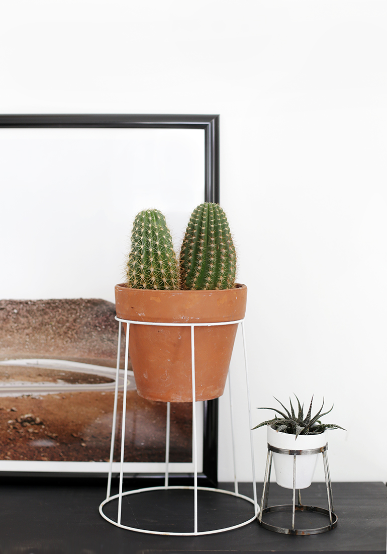 Diy Wire Plant Stand The Merrythought