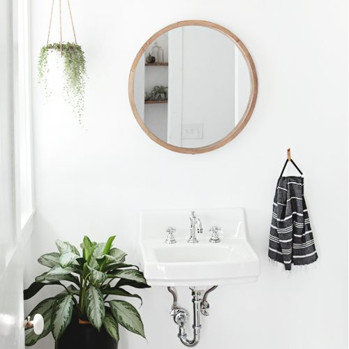DIY Triangle Towel Holder @themerrythought