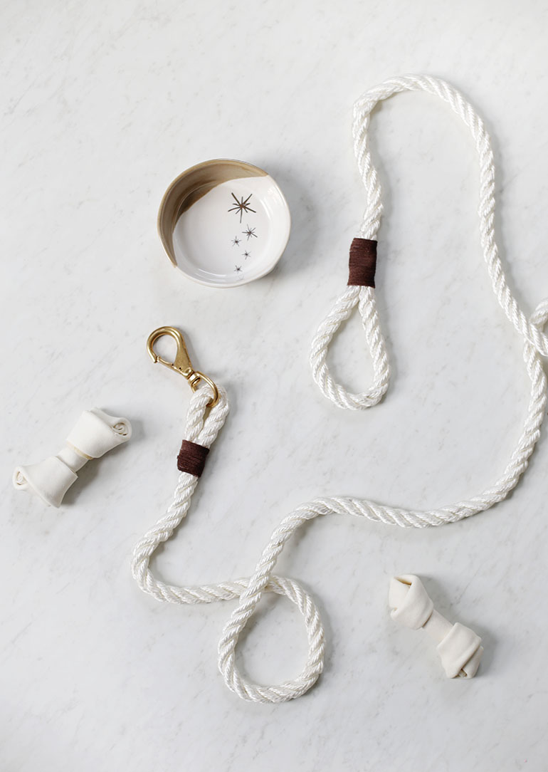 DIY Rope Dog Leash @themerrythought