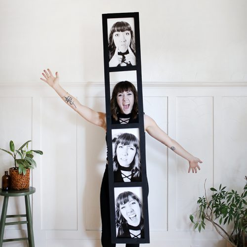 photo strip halloween costume