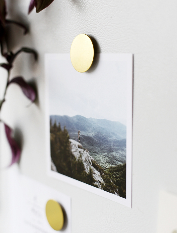 DIY Brass Magnets @themerrythought