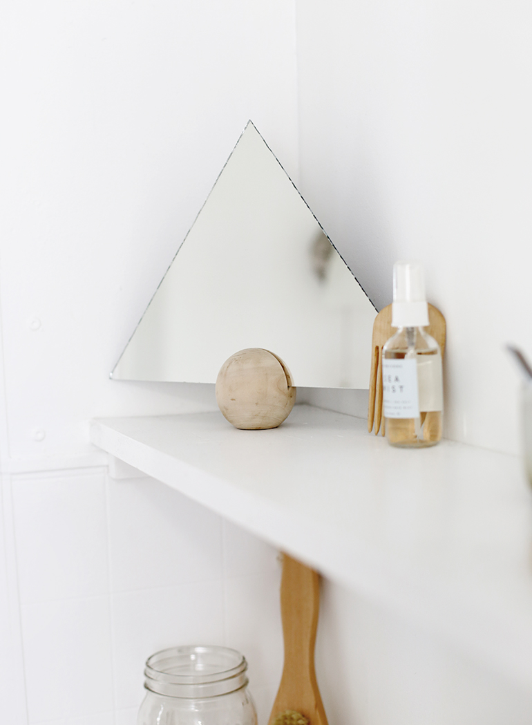 Diy Triangle Mirror The Merrythought