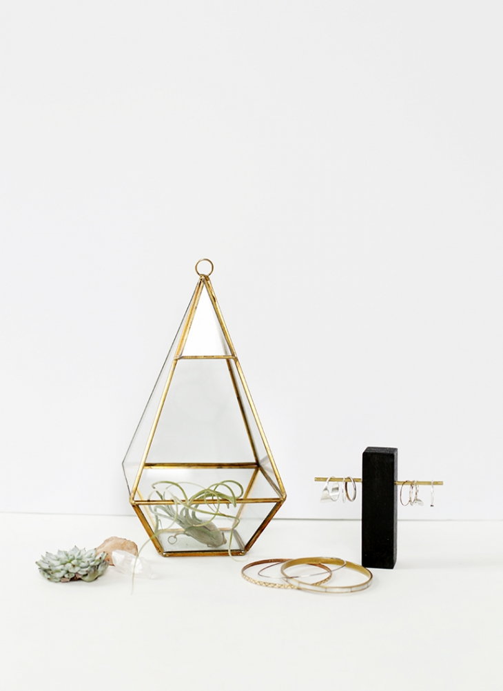 DIY Brass Ring Holder @themerrythought