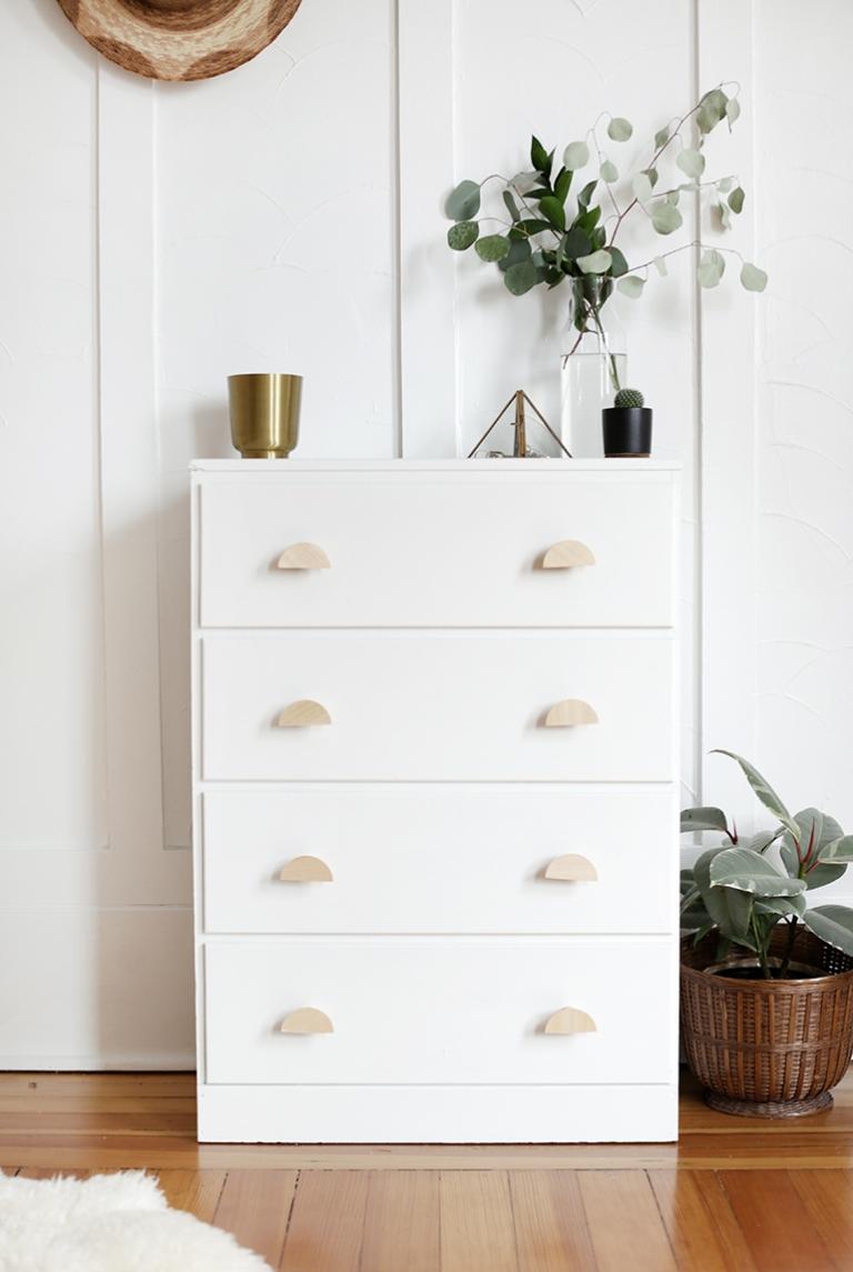 DIY Wooden Half Circle Knobs @themerrythought