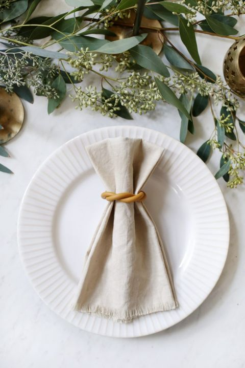 DIY Clay Napkin Rings
