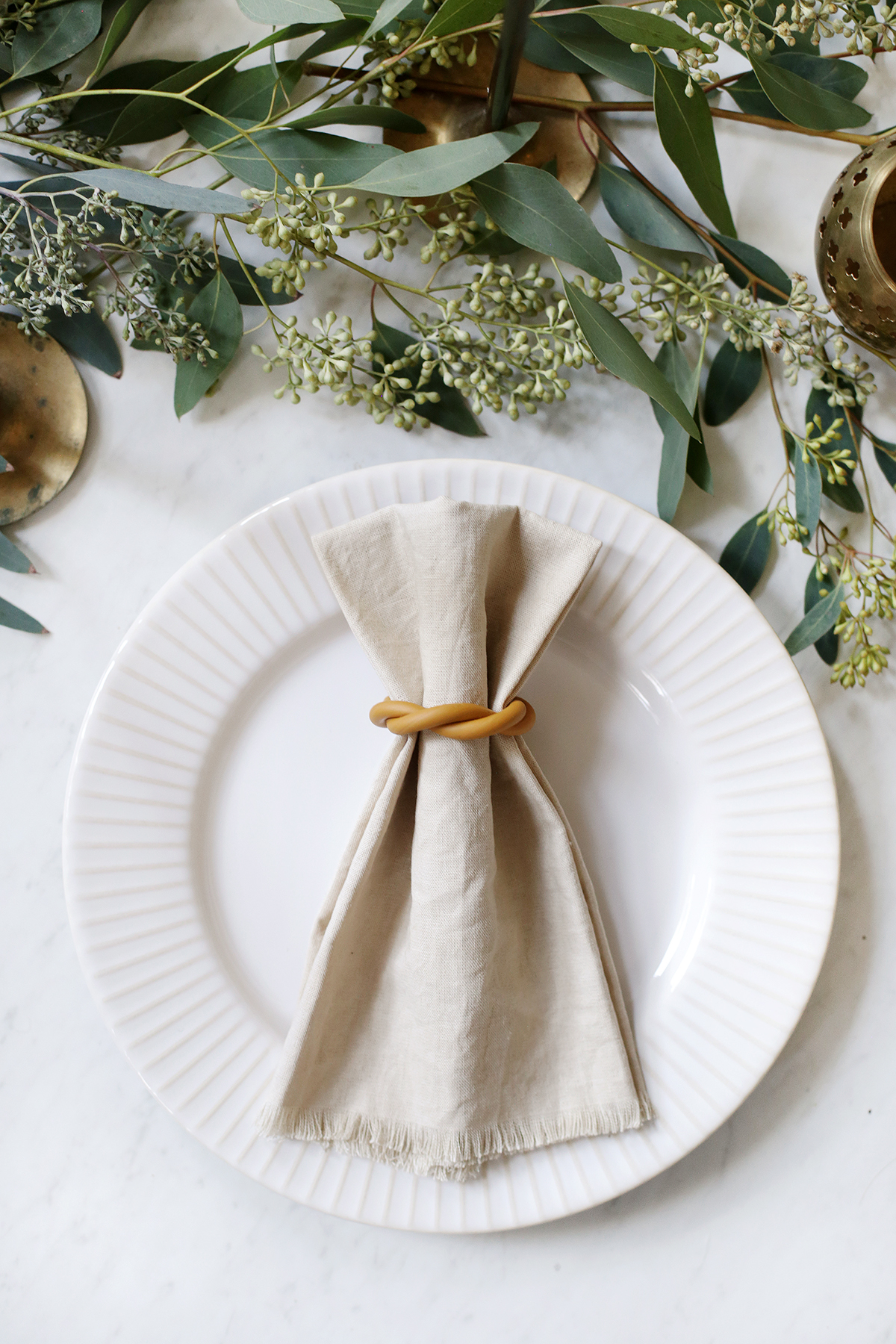 Diy Clay Napkin Rings The Merrythought