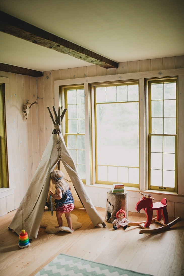 Teepee DIY | @themerrythought